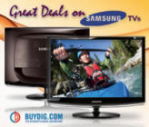 Great Deals on Samsung TVs @ BuyDig.com!