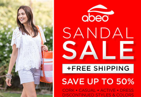 Save up to 50% and enjoy FREE shipping on a great selection of ABEO B.I.O.system sandals!* Shop now to find the best selection online and in-stores at The Walking Company.